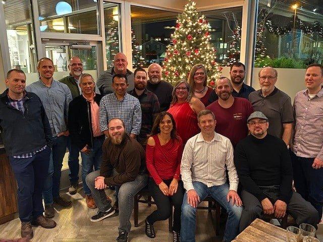 Fischer team holiday party